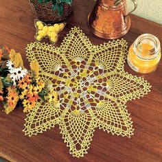 pineapple doily