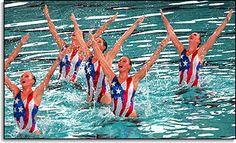 U.S. Synchronized Swim Team Gold Medal Winners, 1996 Atlanta Games