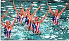 U.S. Synchronized Swim Team Gold Medal Winners, 1996 Atlanta Games