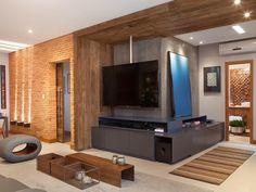 Fotos: Projeto personaliza apê em Floripa com tijolos e madeira de demolição - - UOL Estilo de vida