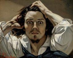 Le désespéré #Courbet