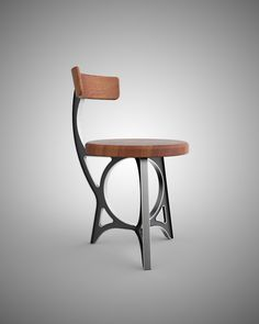 Retro Futuristic Chair & Tables – Vintage Industrial Furniture
