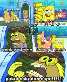 Spongebob Patrick, Spongebob Memes, Spongebob Squarepants, Memes Funny Faces, Cute Memes, All Meme, Drama Memes, Laugh A Lot, Meme Comics