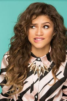 Zendaya photographed by Jon McKee for Justine Magazine April/May 2015