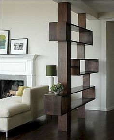 40 Modern Living Room Partition Ideas - Not only does it serve to give more space in a crammed up room but glass room divider partition is a perfect decorative element for a living room or a. Living Room Partition Design, Living Room Divider, Room Partition Designs, Living Room Decor, Partition Ideas, Dining Room, Room Divider Shelves, Glass Room Divider, Diy Room Divider