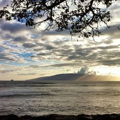 Instagram photo by @roxannedarling Looking at Lanai, from the shores of Maui, at sunset #VisitLanai