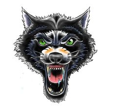 And pretty pissed wolf! Oldschool wolf