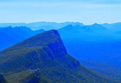Signal Peak and the Serra Range is just part of the awesome 360 degree view from the summit of Mt Abrupt in Australia's Grampians National Park.