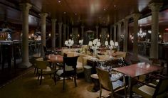 "The Venetian-inspired PJ's Club Restaurant forms an upscale ""cicchetteria"", the…"