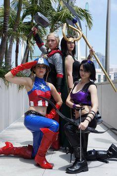 Geek Pride Day Group Cosplays