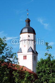 Church Sankt Peter in Wandersleben near Gotha in Thuringia.