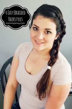 4 Easy Braided Hairs