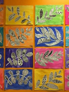 fall art projects for kids Line art for kids 65 ideas Line Art Projects, Fall Art Projects, School Art Projects, Auction Projects, Primary School Art, Middle School Art, Art School, School Auction, Classe D'art