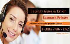 Lexmark Printer Technical Support Number 1-888-248-7142