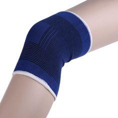 Knee Support Brace Leg Arthritis Injury Gym Sleeve Elasticated Bandage Pad SS #Affiliate