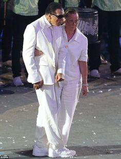 Muhammad Ali made an appearance at the Olympics opening ceremony in London