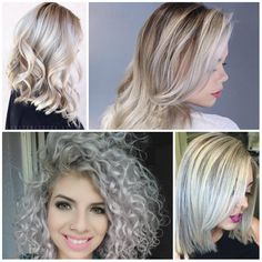 2017 Hair Colors with White and Platinum Blonde Hair