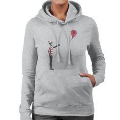 Never Found Wheres Wally Balloon Banksy Women's Hooded Sweatshirt