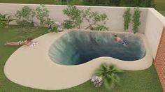 Pioneros en la construcción de Piscinas de Arena, un nuevo concepto de piscinas de lujo. Piscinas de Arena compactada NaturSand tipo playa.