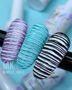 Nail Art Hacks, Nail Art Diy, Cool Nail Art, Diy Nails, Nail Art Designs Videos, Nail Art Videos, Nail Designs, Fiberglass Nails, Nail Mania