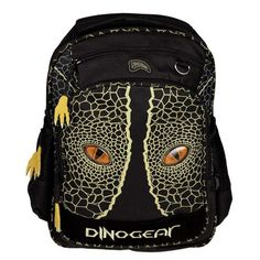 Dinosoles 3D Double Eye Dinosaur School Backpack With Blinking Lighted Eyes *** Find out more about the great product at the image link.