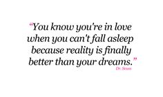 Better than my dreams...