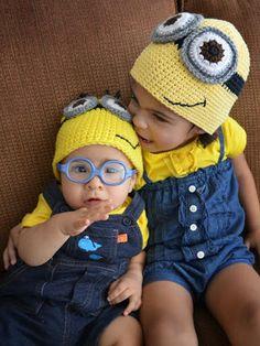 Ravelry: Minion Hat pattern by Crochet by Jennifer Minion Crochet, Crochet Kids Hats, Knit Or Crochet, Crochet Crafts, Crochet Projects, Minion Hats, Minions, Baby Patterns, Crochet Patterns