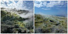 fumerolles - vulcano - Iles éoliennes - Sicile