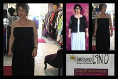 cette robe se transforme en jupe cette  jupe se transforme en robe dispo en blanc ou noir chez PARIS NEW YORK à SAINT-LO