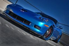 Blue Devil! #corvette