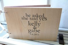 Wedding Guest Book by Quotes & Notes