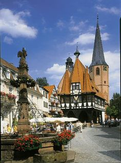 Michelstadt, Germany (Odenwald), from where much of my family stems.
