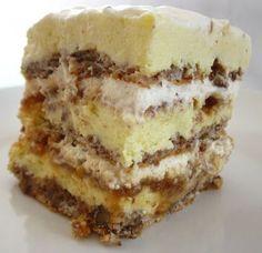 Romanian Desserts, Romanian Food, Egyptian Desserts, Cake Recipes, Dessert Recipes, Food Cakes, Homemade Cakes, Cheesecakes, Caramel