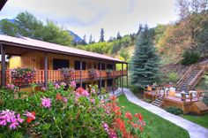 Box Canyon Lodge in Ouray, Colorado  http://www.vagabondish.com/36-hours-ouray-colorado/#