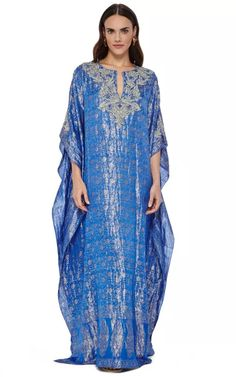 The Caftan Collection Special 2015 Trunkshow Look 2 on Moda Operandi