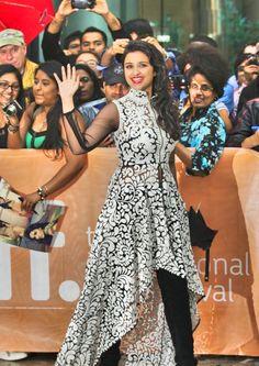 Bollywood Ishtyle nidhi and pankaj style Cheap Short Prom Dresses, High Low Prom Dresses, New Fashion Saree, Fashion Dresses, Women's Fashion, Asian Fashion, Indian Fashion Designers, Indian Designer Wear, Indian Dresses