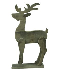 Another great find on #zulily! Standing Wood Reindeer by Home View Design #zulilyfinds