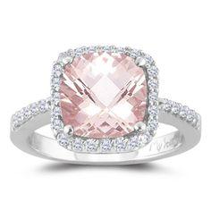 Pink diamond ring for your wedding ring? #weddingrock #weddingbling #weddingring