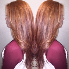 Red head with lowlights Ginger hair redhead Redhead with highlights Hair by 8k_tayy On Instagram