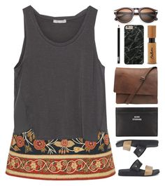 """""""Saint Malo"""" by ladyturquoise8 ❤ liked on Polyvore featuring Tory Burch, Zara, Melissa, Acne Studios, SheaMoisture and NARS Cosmetics"""