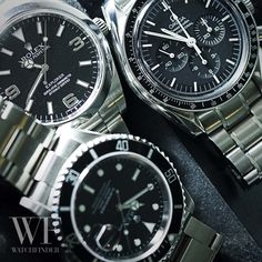 Is it controversial to be including #Rolex with our #Omega    #Speedmaster  this #SpeedyTuesday? Let us know!