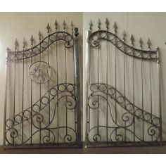 Wrought Iron Driveway Gate. Customize Realisations. 050 Wrought Iron Driveway Gates, Gate Design, B & B, Villa, Ebay, Home Decor, Home, Decoration Home, Room Decor