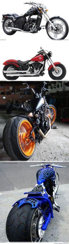 Motorcycles. Nemesis' preferred method of travel