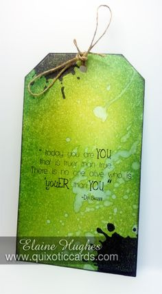 Today You are YOU! – Quixotic Cards