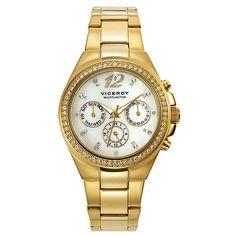 Reloj Viceroy Michael Kors Watch, Gold Watch, Watches, Accessories, Fashion, Women, Moda, Wristwatches, Fashion Styles