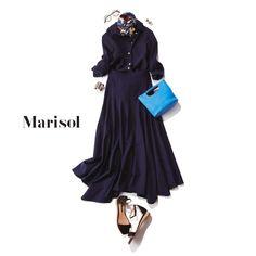 週末カジュアルコーデからフレンチシックなブラウンコーデまで【アラフォー春の1週間コーデ】|Marisol ONLINE|女っぷり上々!40代をもっとキレイに。