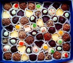 1 кг наших конфеток из бельгийского шоколада уехал в Киев !