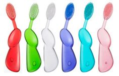 Use your toothbrush to smooth chapped lips.