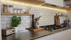 """""""Thankyou for all the time and planning you spent to produce our kitchen. It is certainly a wonderful feature in our home and is a credit to your business. Engineered Stone, Oak Doors, The Prestige, Joinery, Kitchens, Shelves, Interiordesign, Home Decor, Carving"""