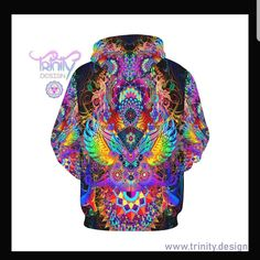 Updates from UtopikCo on Etsy Festival Outfits, Festival Clothing, Snug Fit, Captain Hat, Pullover, Trending Outfits, Hoodies, Psychedelic, Etsy